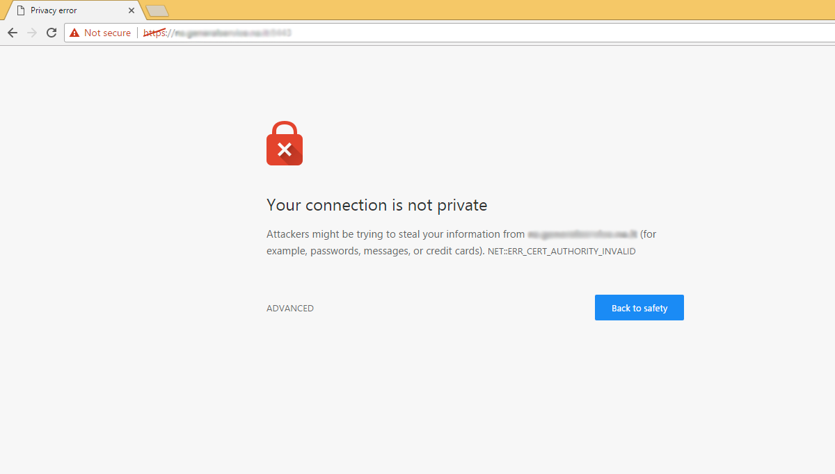 Chrome How To Install Self Signed Ssl Certificates Nullalo